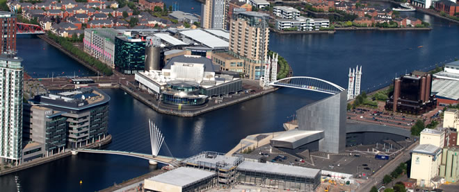 buy-to-let apartments in Salford Quays