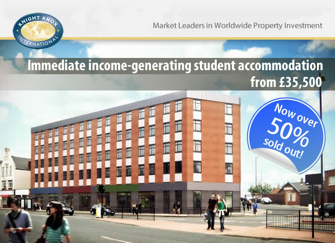 Immediate Income Generating Student Accommodation